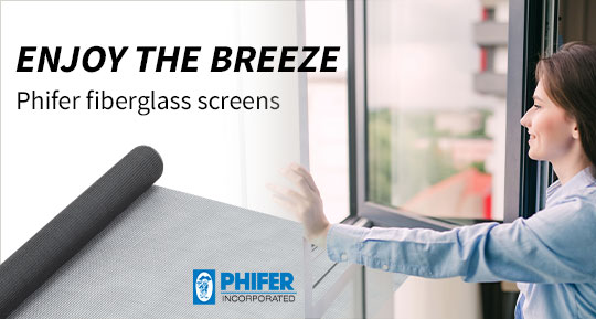 Phifer fiberglass screens