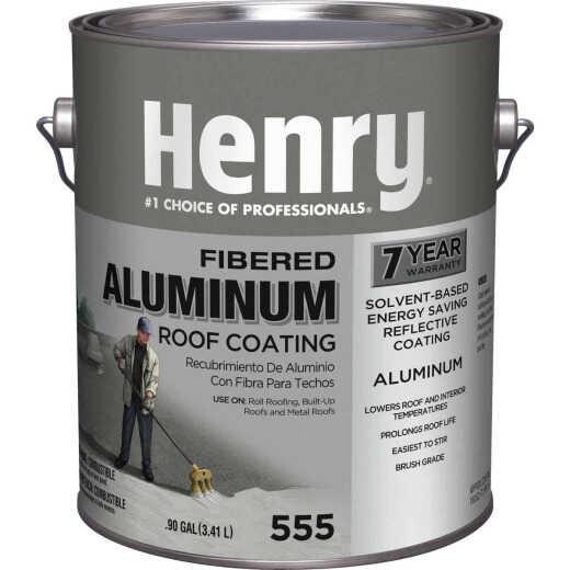 Henry 1 Gal. Fibered Aluminum Roof Coating