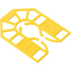 Broadfix 2-3/16 In. L Polypropylene Small U Shim, Assorted Thicknesses (120-Count) Image 2