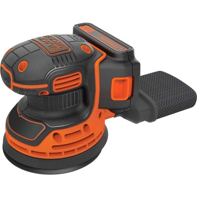 Black & Decker 20-Volt MAX Lithium-Ion Random Orbit Cordless Finish Sander Kit