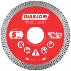 Diablo 5 In. Diamond Continuous Rim Dry/Wet Cut Diamond Blade Image 1
