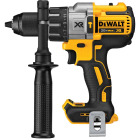 DeWalt 20 Volt MAX XR Lithium-Ion Brushless 1/2 In. 3-Speed Cordless Hammer Drill (Bare Tool) Image 1
