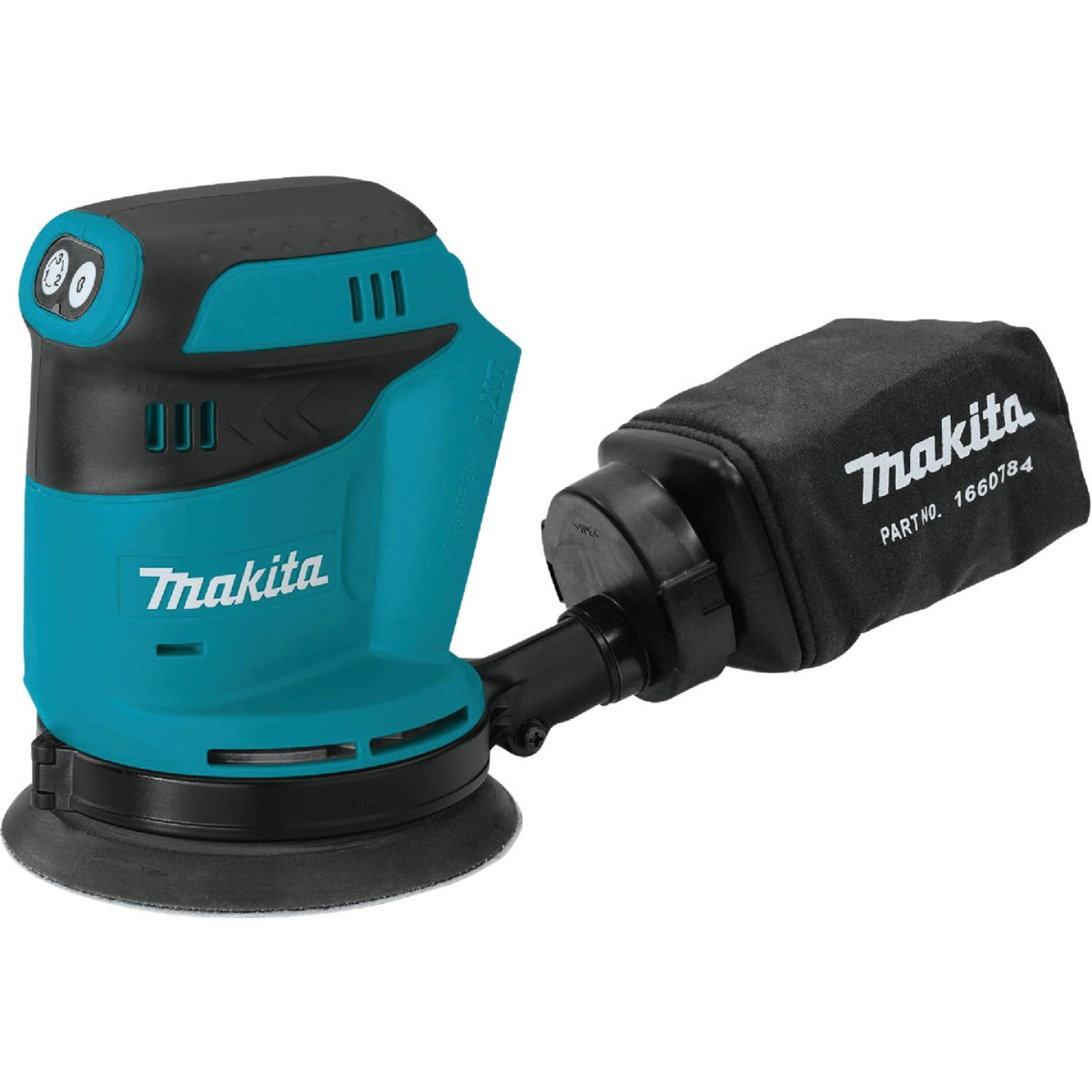 Makita 18 Volt LXT Lithium-Ion 5 In. Random Orbit Cordless Finish Sander (Bare Tool) Image 1