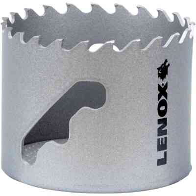 Lenox 2-1/8 In. Carbide-Tipped Hole Saw w/Speed Slot