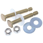 Do it 5/16 In. x 2-1/4 In. Steel Toilet Bolts  Image 1