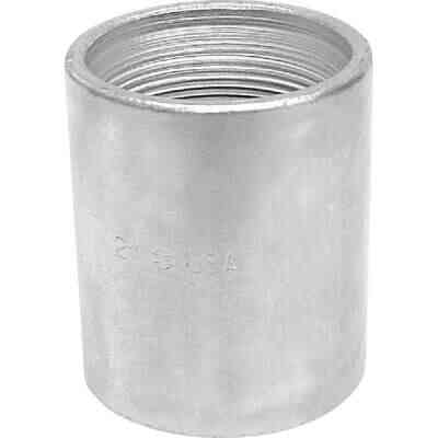 Anvil 1-1/4 In. x 1-1/4 In. FPT Standard Merchant Galvanized Coupling