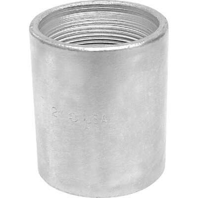 Anvil 2 In. x 2 In. FPT Standard Merchant Galvanized Coupling