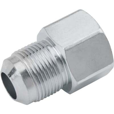 Dormont 5/8 In. OD Male Flare x 3/4 In. FIP Zinc-Plated Carbon Steel Adapter Gas Fitting, Bulk
