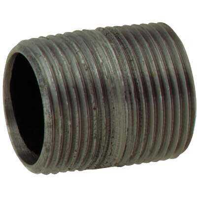 Anvil 1/2 In. x Close Schedule 40 Steel Black Iron Nipple