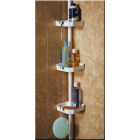 Zenith Plastic 7-3/4 In. x 97 In. Shower Caddy Image 2