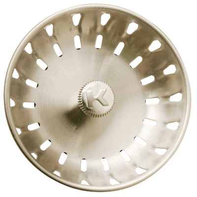 Do it Brushed Nickel Replacement Basket Strainer Cup with Fixed Post
