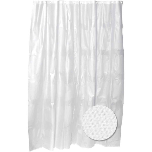 Zenith 70 In. x 72 In. Clear PEVA Shower Curtain Liner