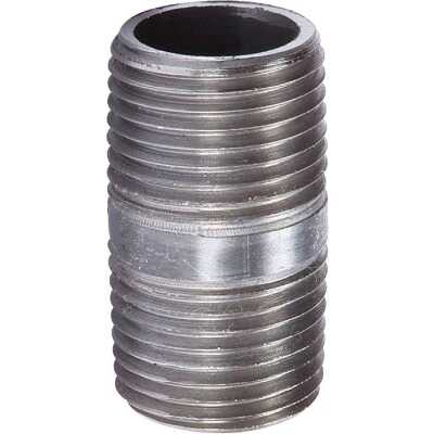 Southland 1/8 In. x Close Welded Steel Galvanized Nipple