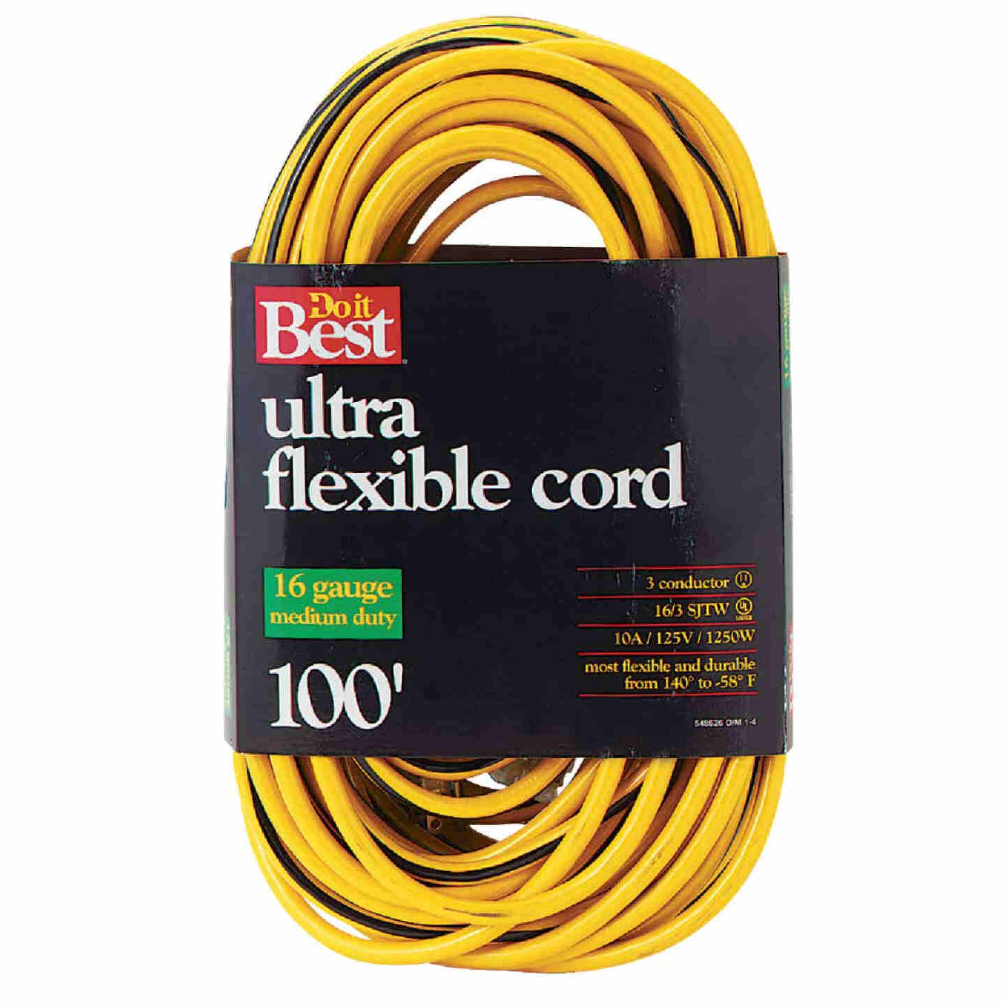 Do it Best 100 Ft. 16/3 Medium-Duty Extension Cord Image 1