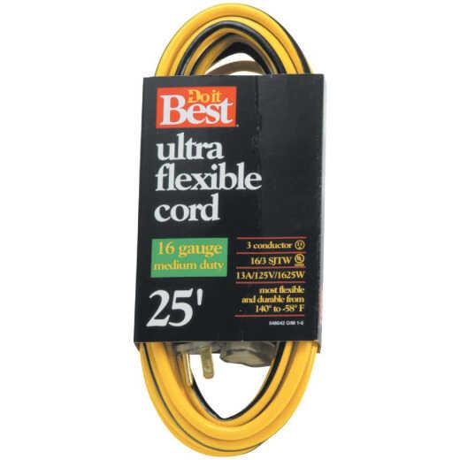 Do it Best 25 Ft. 16/3 Medium-Duty Extension Cord