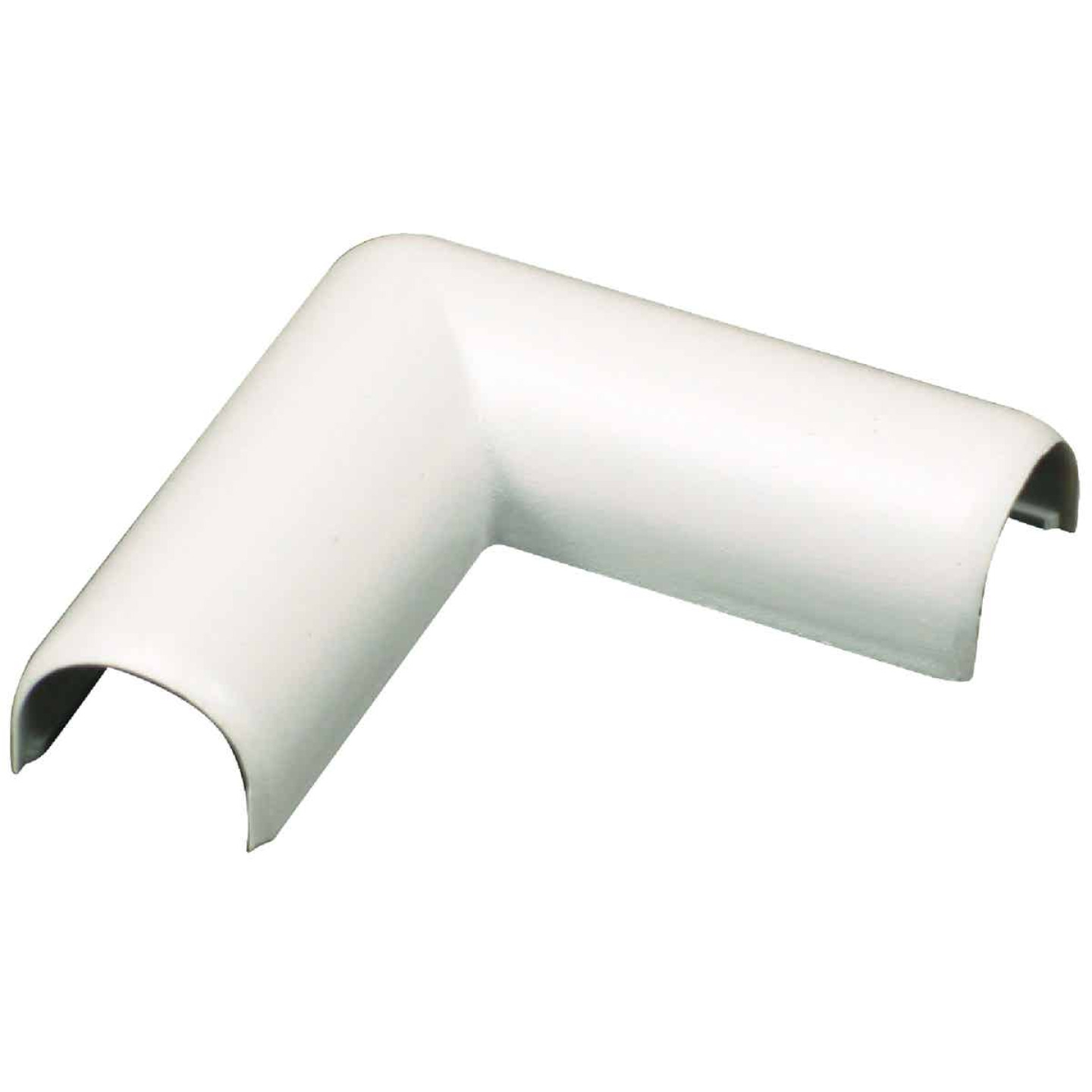 Wiremold White 90 Deg Flat Elbow Image 1