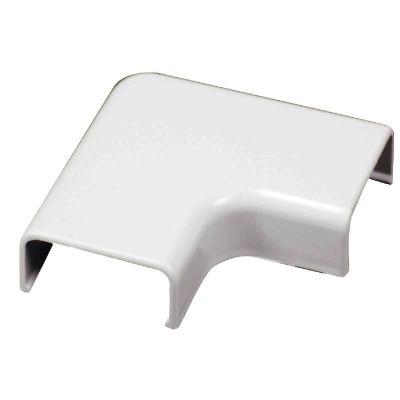 Wiremold White 90 Deg Flat Elbow