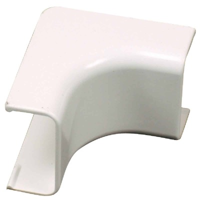Wiremold CordMate White 90 Deg Inside Elbow