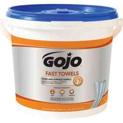GOJO Fresh Citrus Pop-up Dispenser Fast Hand Cleaner Wipes, (130 Ct.)