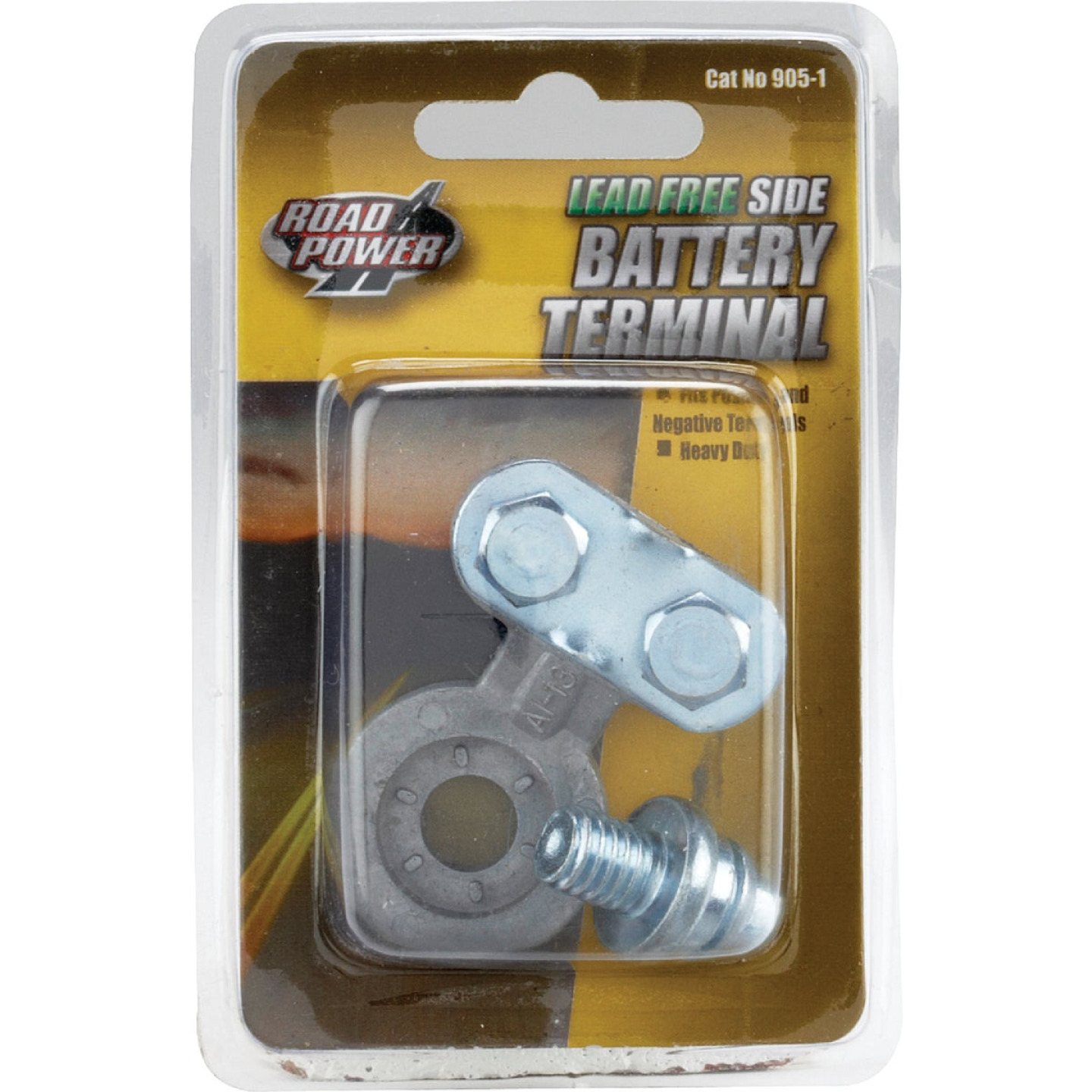 Road Power Lead-Free Side Post Battery Terminal Image 1