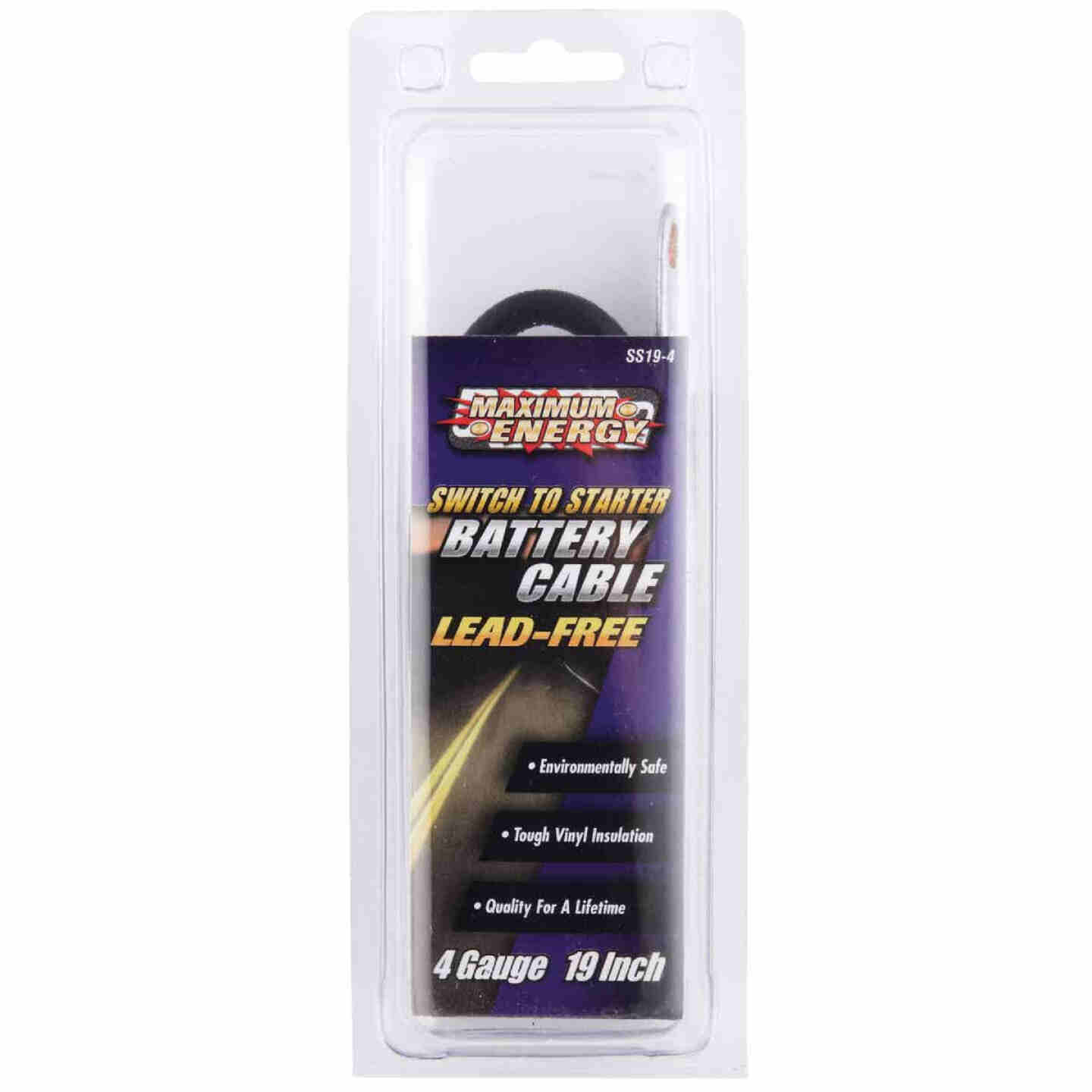 Road Power 19 In. 4 Gauge Switch-to-Start Battery Cable Image 2