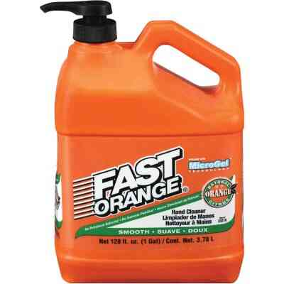 PERMATEX Fast Orange Smooth Citrus Hand Cleaner, 1 Gal.
