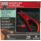 Southwire 16 Ft. 6 Gauge Booster Cable with Road Power Night Bright Clamps Image 1