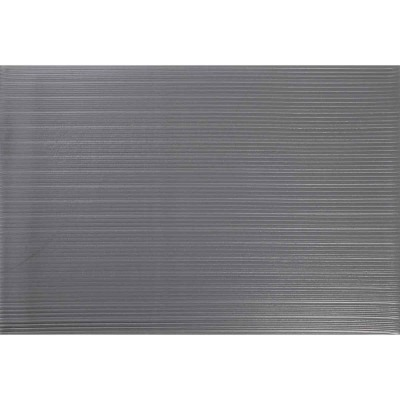 Apache 24 In. x 36 In. Gray Soft Foot Anti-Fatigue Mat