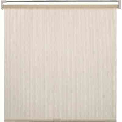 Home Impressions 36 In. x 72 In. Ivory Fabric Indoor/Outdoor Cordless Roller Shade