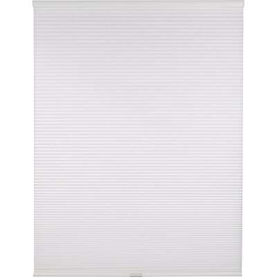 Home Impressions 1 In. Light Filtering Cellular White 27 In. x 72 In. Cordless Shade