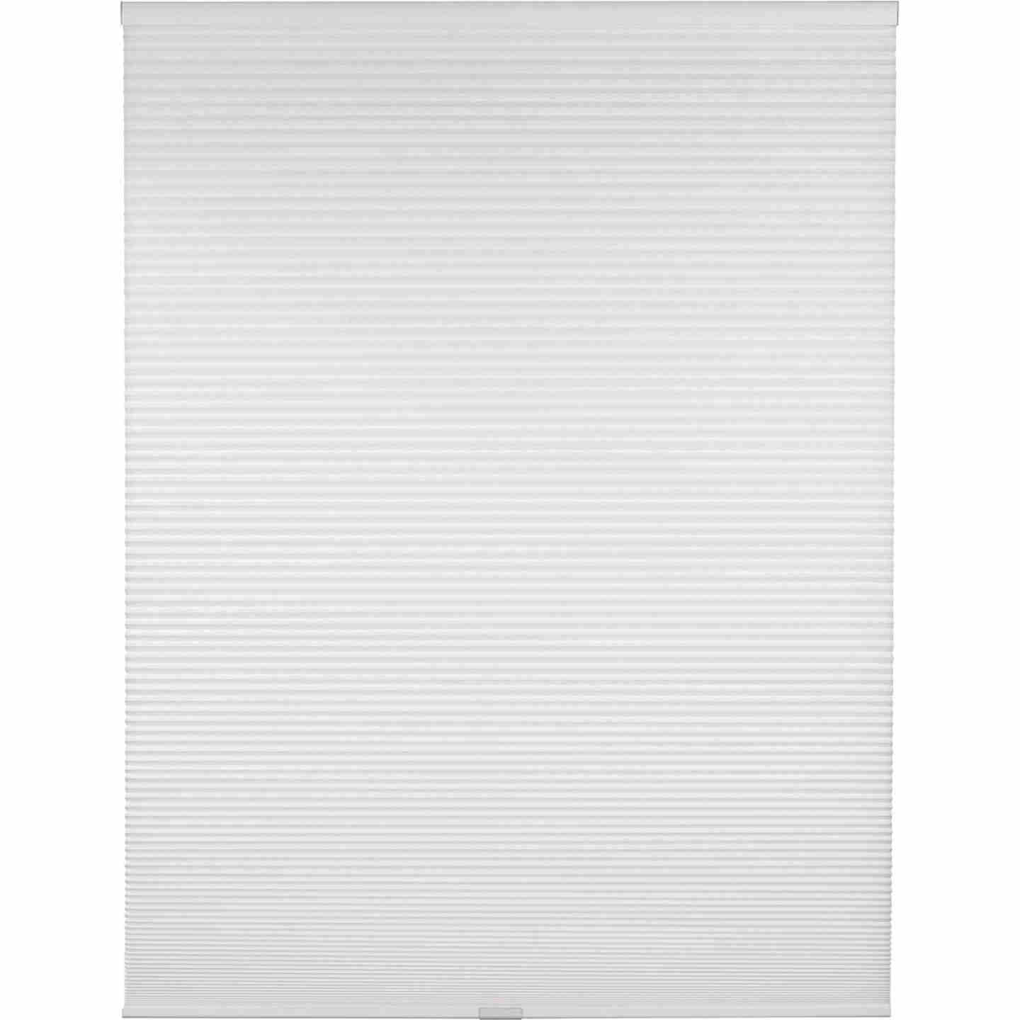 Home Impressions 1 In. Light Filtering Cellular White 29 In. x 72 In. Cordless Shade Image 1