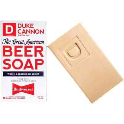 Duke Cannon 10 Oz. Great American Budweiser Cedarwood Bar Soap