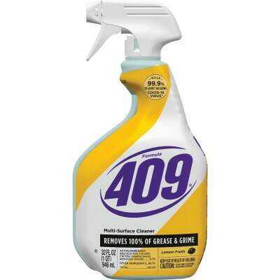Formula 409 32 Oz. Lemon Fresh Antibacterial Multi-Surface Disinfectant Cleaner