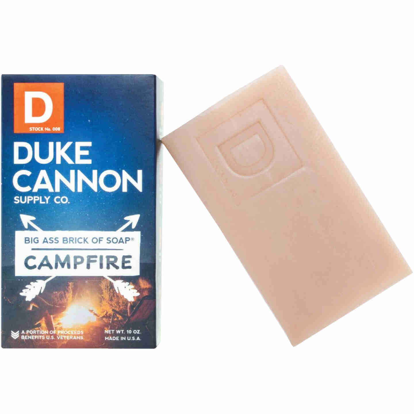 Duke Cannon 10 Oz. Campfire Big Ass Brick of Soap Image 1