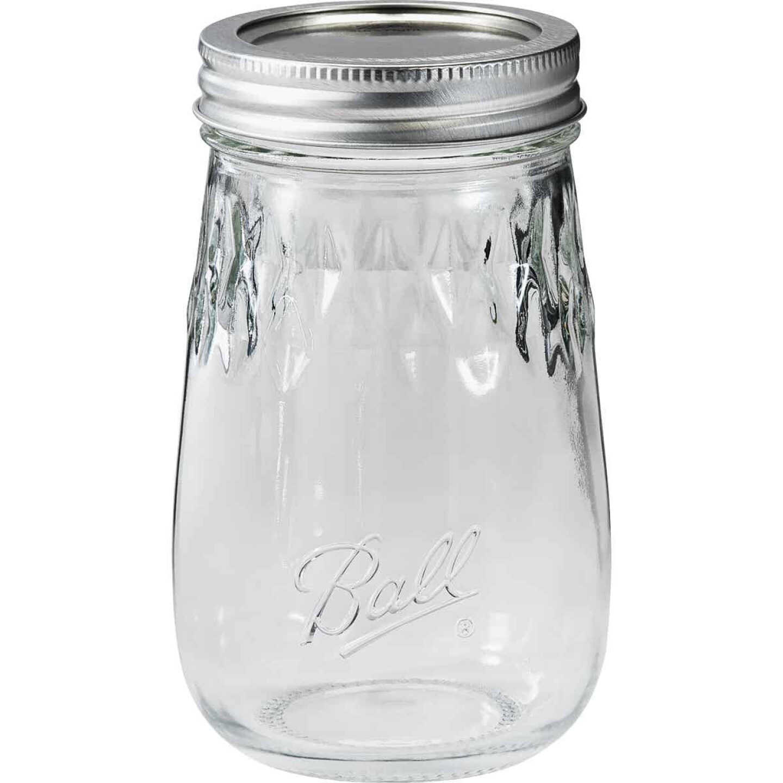 Ball Pint Fluted Freezer Jar (4 Pack) Image 1