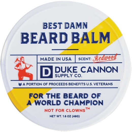 Duke Cannon 1.6 Oz. Redwood Beard Balm