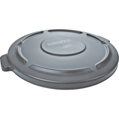 Rubbermaid Commercial Brute Gray Trash Can Lid for 20 Gal. Trash Can
