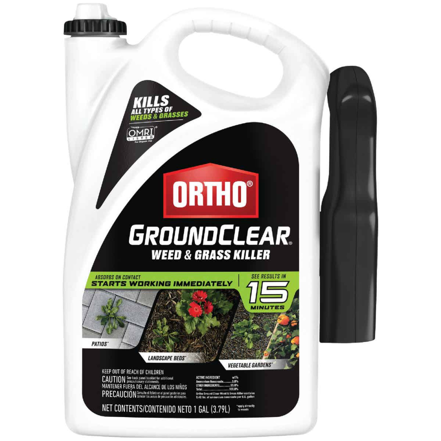 Ortho GroundClear 1 Gal. Ready To Use Trigger Spray Weed & Grass Killer Image 1