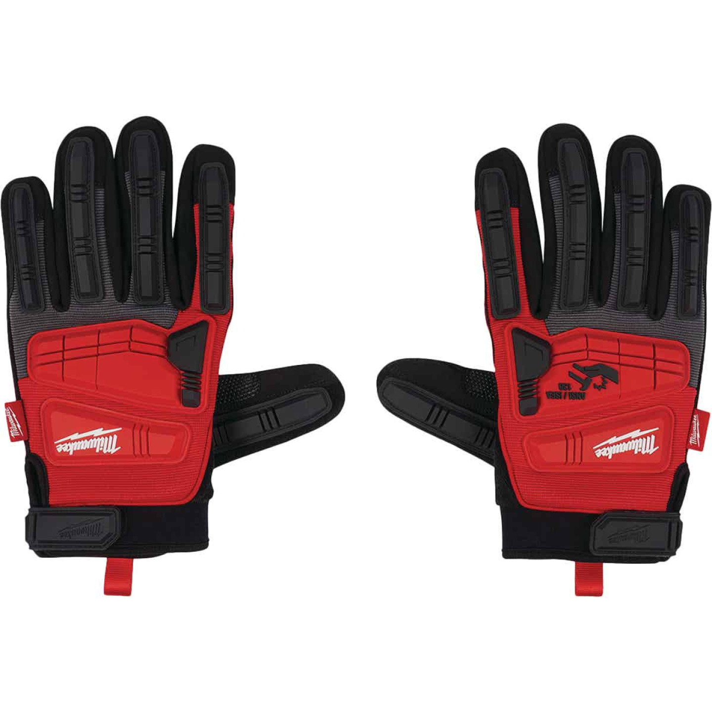 Milwaukee Men's XL Synthetic Leather Impact Demolition Glove Image 2