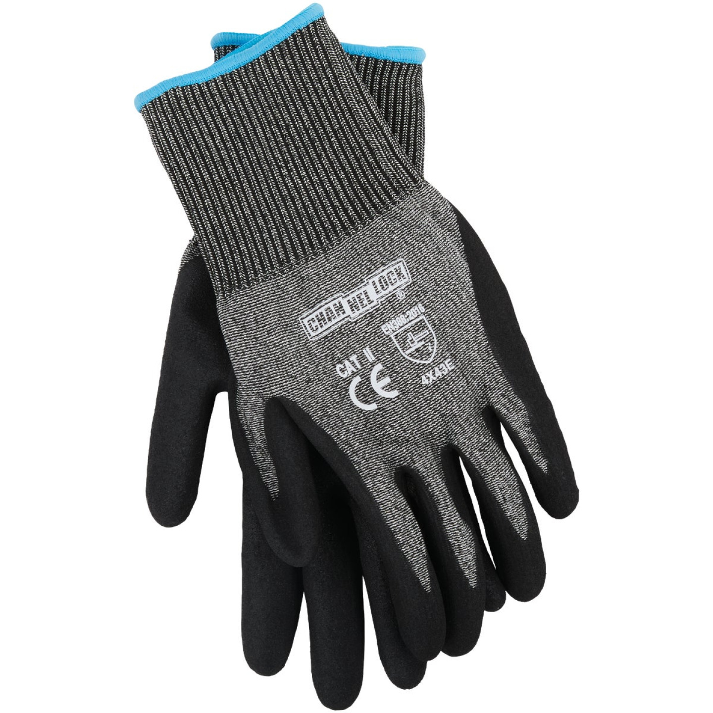 Channellock Men's XL Nitrile Dipped Cut 5 Glove Image 1