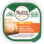 Nutro Grain Free Slow Cooked Chicken Adult Pate Dog Food, 3.5 Oz. Image 1