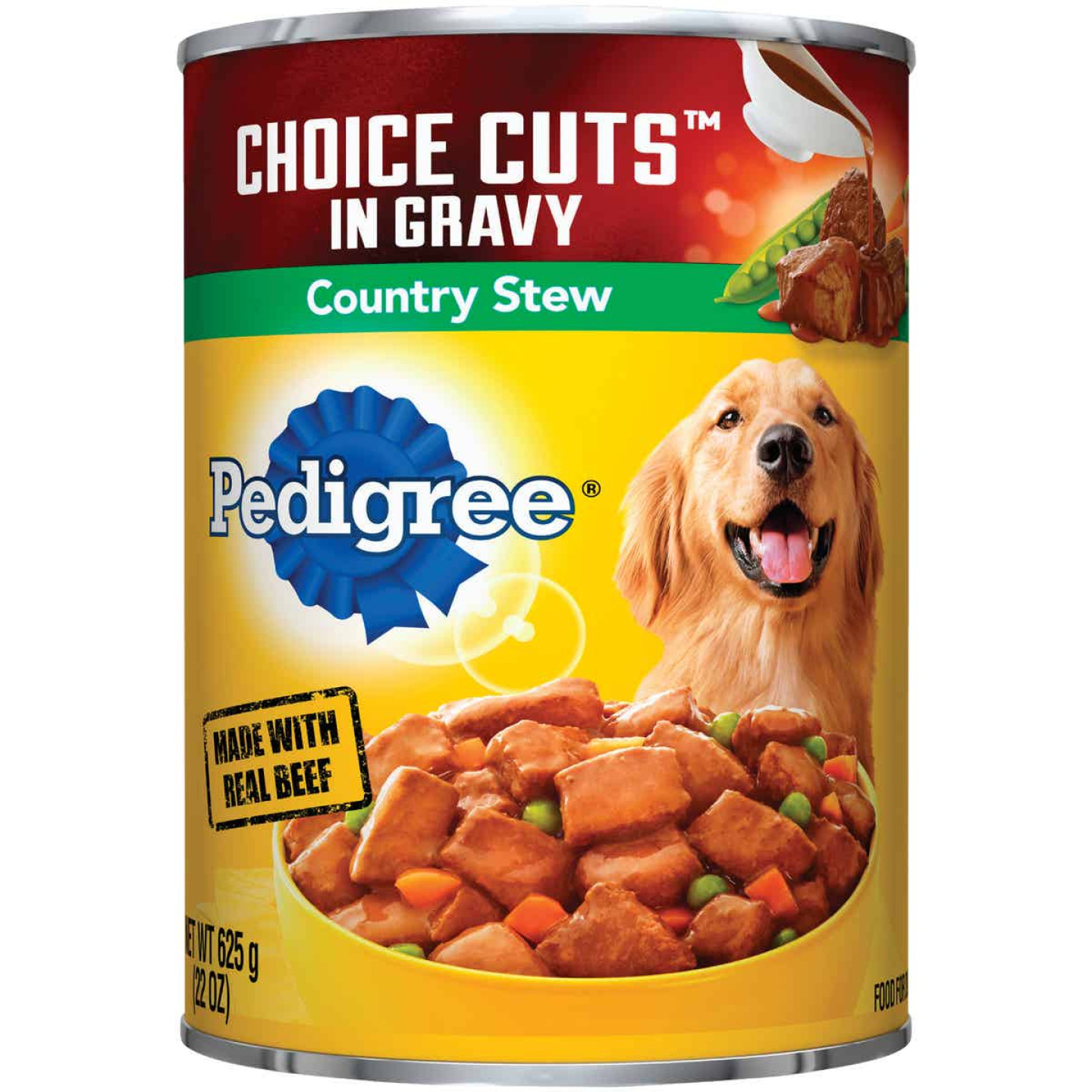 Pedigree Choice Cuts Country Stew Wet Dog Food, 22 Oz. Image 1