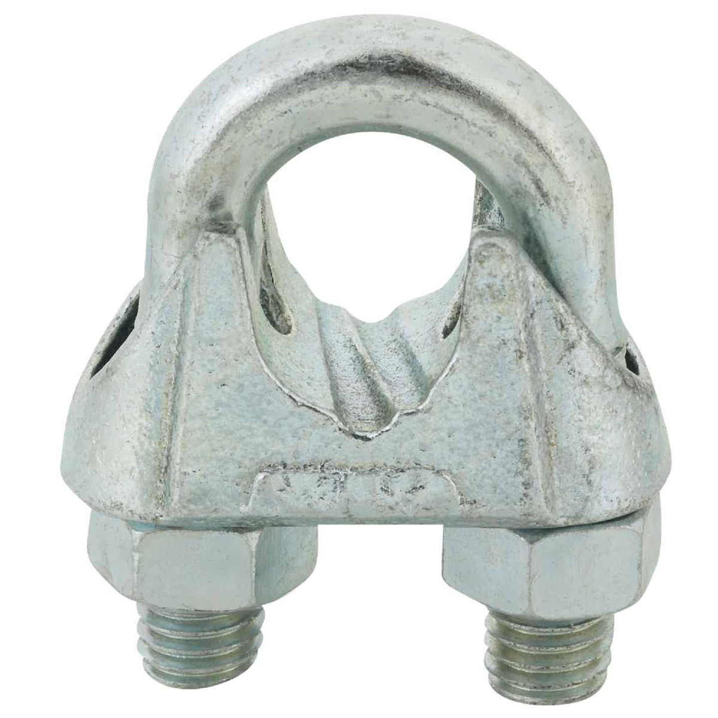 Campbell 5/8 In. Galvanized Iron Cable Clip Image 1