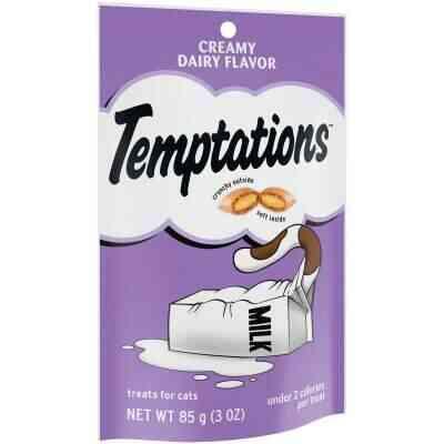 Temptations Creamy Dairy 3 Oz. Cat Treats
