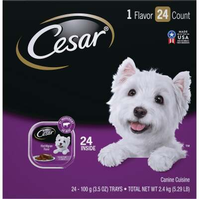 Cesar Classic Loaf Filet Mignon Adult Wet Dog Food (24-Pack)