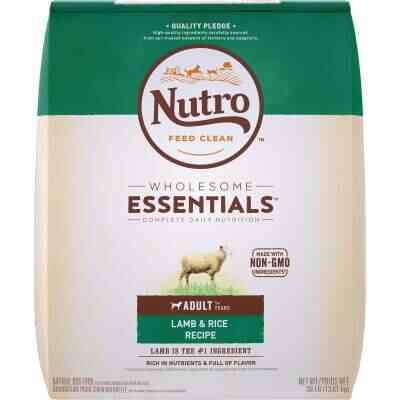 Nutro Wholesome Essentials 30 Lb. Lamb & Rice Adult Dry Dog Food