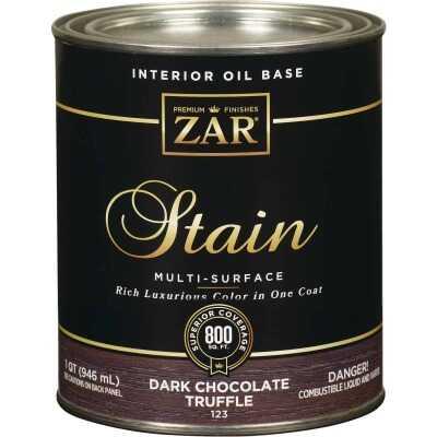 ZAR Oil-Based Wood Stain, Dark Chocolate Truffle, 1 Qt.