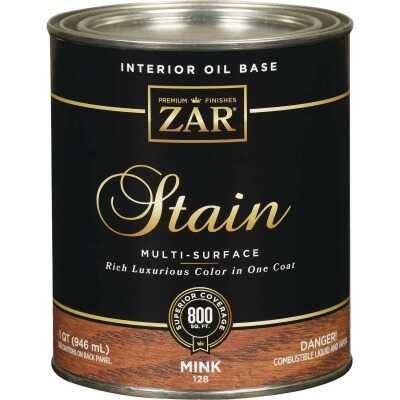 ZAR Oil-Based Wood Stain, Mink, 1 Qt.