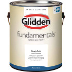 Glidden Fundamentals Interior Paint Semi-Gloss White & Pastel Base 1 Gallon Image 1