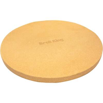 Broil King 15 In. Ceramic Composite Extra Thick Grilling Pizza Stone